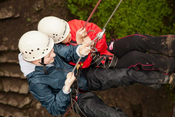 Edale Abseiling