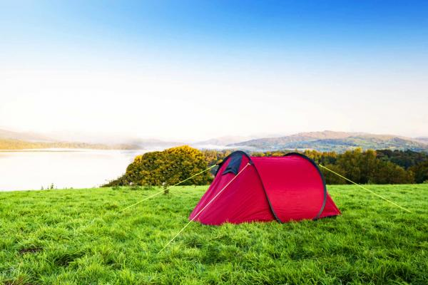 Camping in Borrowdale