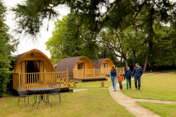 Camping Pods, Huts and Cabins at YHA England & Wales