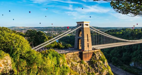View of Clifton Suspension Bridge