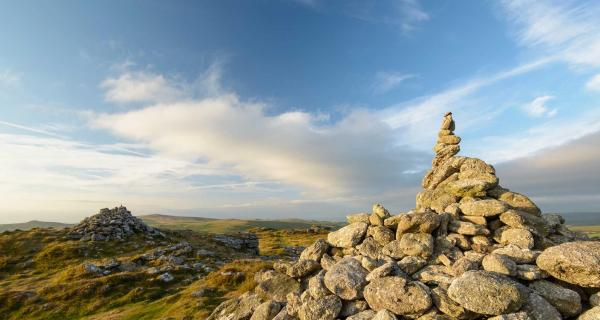 View from Dartmoor Checkwell Tor