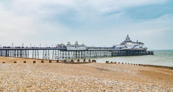 Eastbourne Pier from the beach