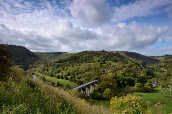 Peak District View over Monsal Head