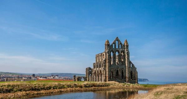 View of St Hilda's Abbey, Whitby