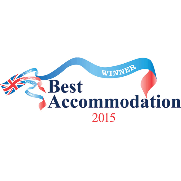 Best Accommodation 2015 award - YHA Cardiff Central
