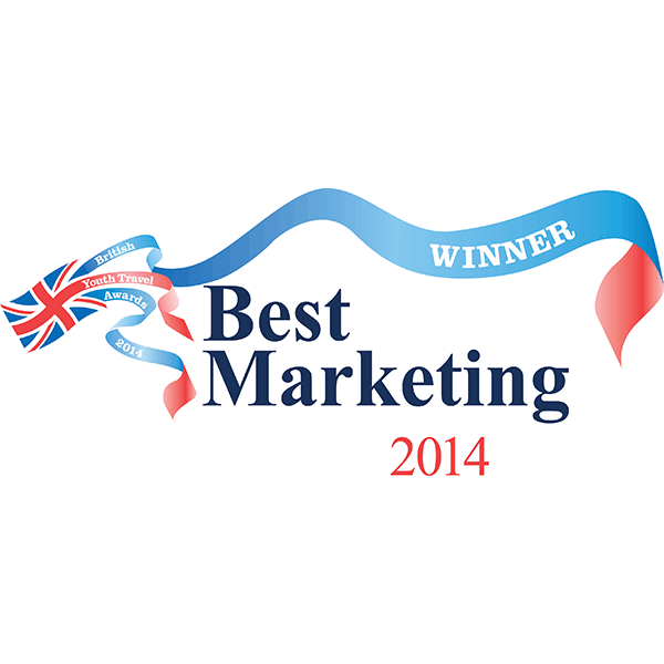 British Youth Travel Awards - Best Marketing 2014