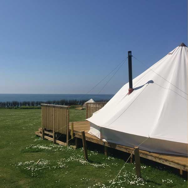 Premium Bell Tents at YHA England & Wales