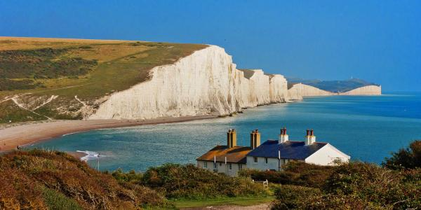 The Seven Sisters in afternoon light