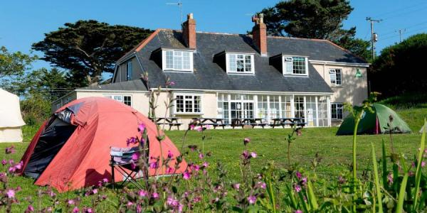 YHA Lands End camping