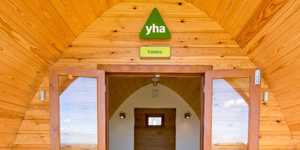 Large Camping Pods at YHA England & Wales