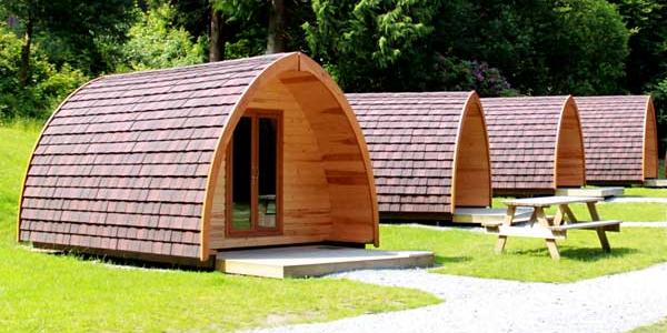 Standard pods at YHA England & Wales