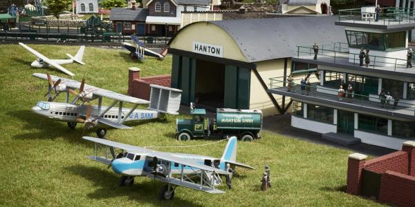 Bekonscot Model Village airport