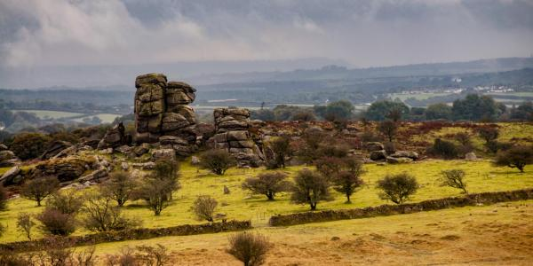 Vixen Tor on Dartmoor