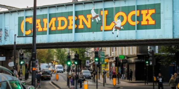 Road Sign to the World Famous Camden Market