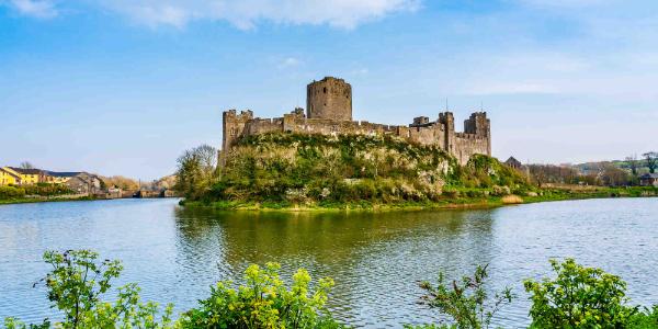 Pembroke Castle exterior