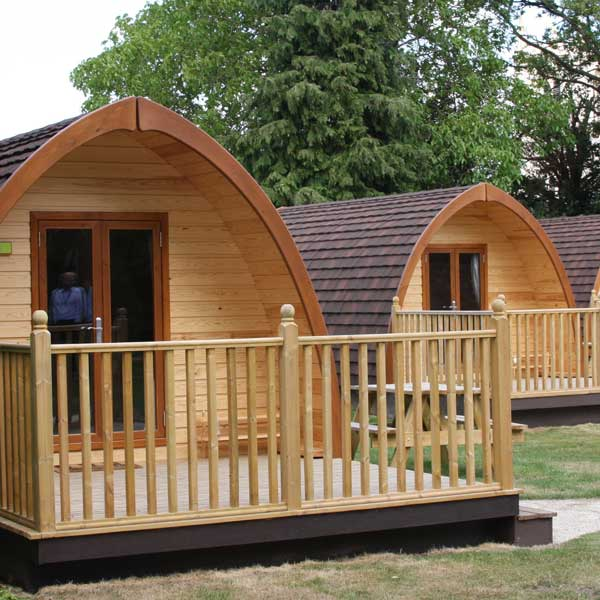 Camping pods at YHA Straford-upon-Avon