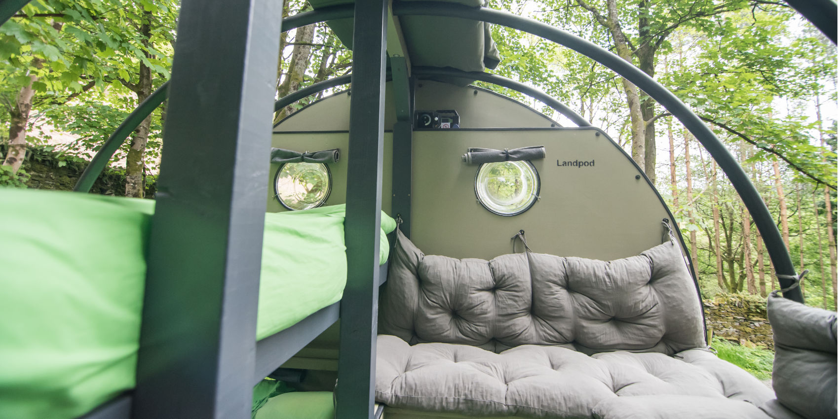 Landpod at YHA