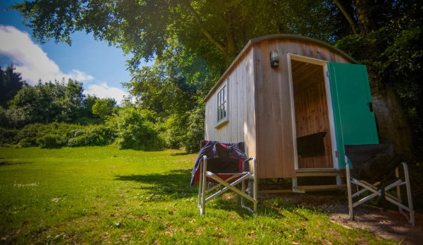Shepherds hut at YHA