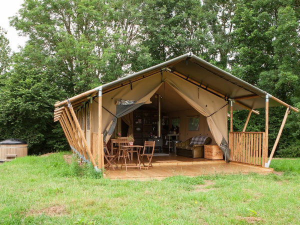 Safari tent at YHA
