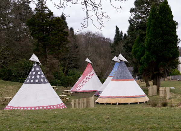 Tipi at YHA