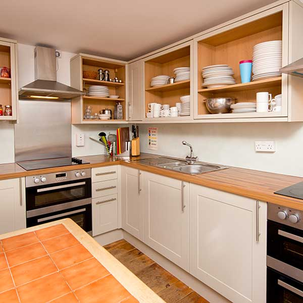 Self-catering facilities at YHA England & Wales