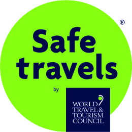 Safe travels badge