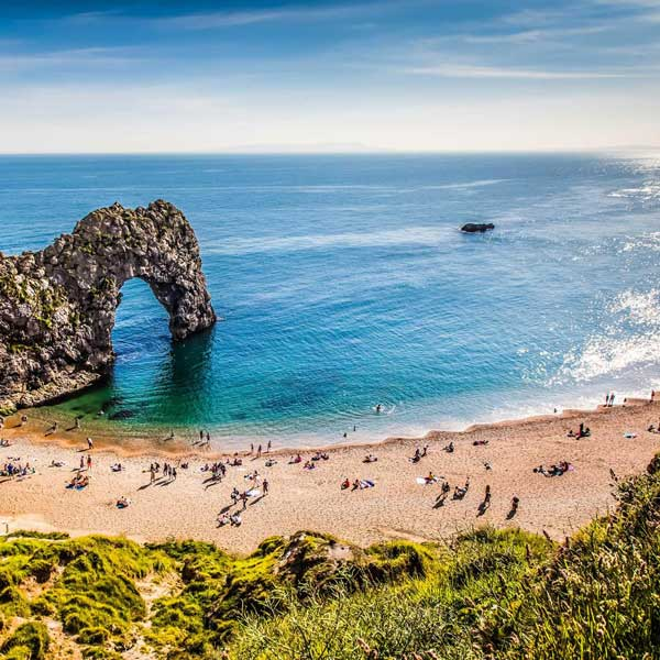 View of Durdle Door, Dorset